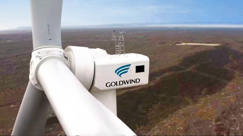 goldwind 5mw wind turbine