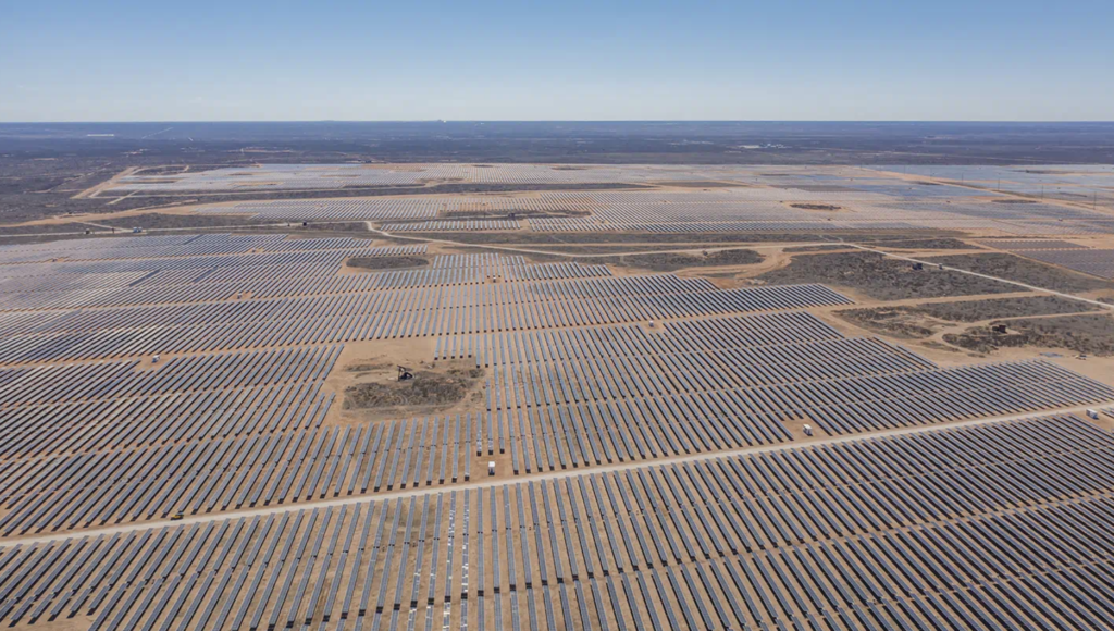 US solar project pipeline