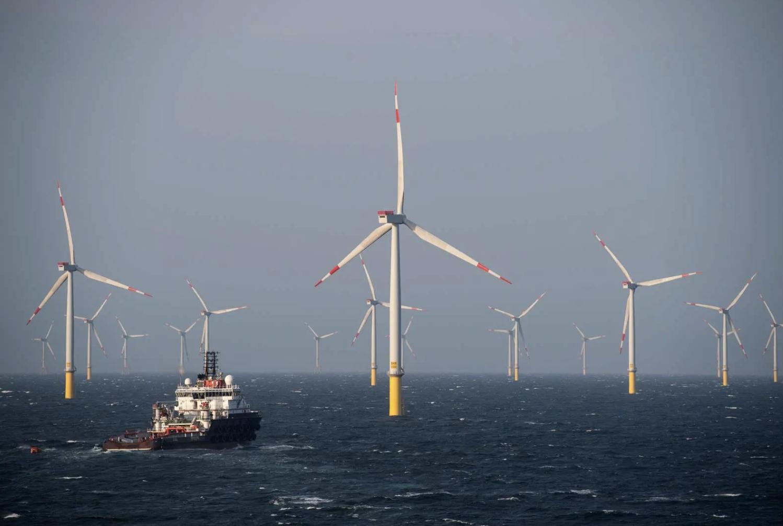borkum offshore wind farm germany