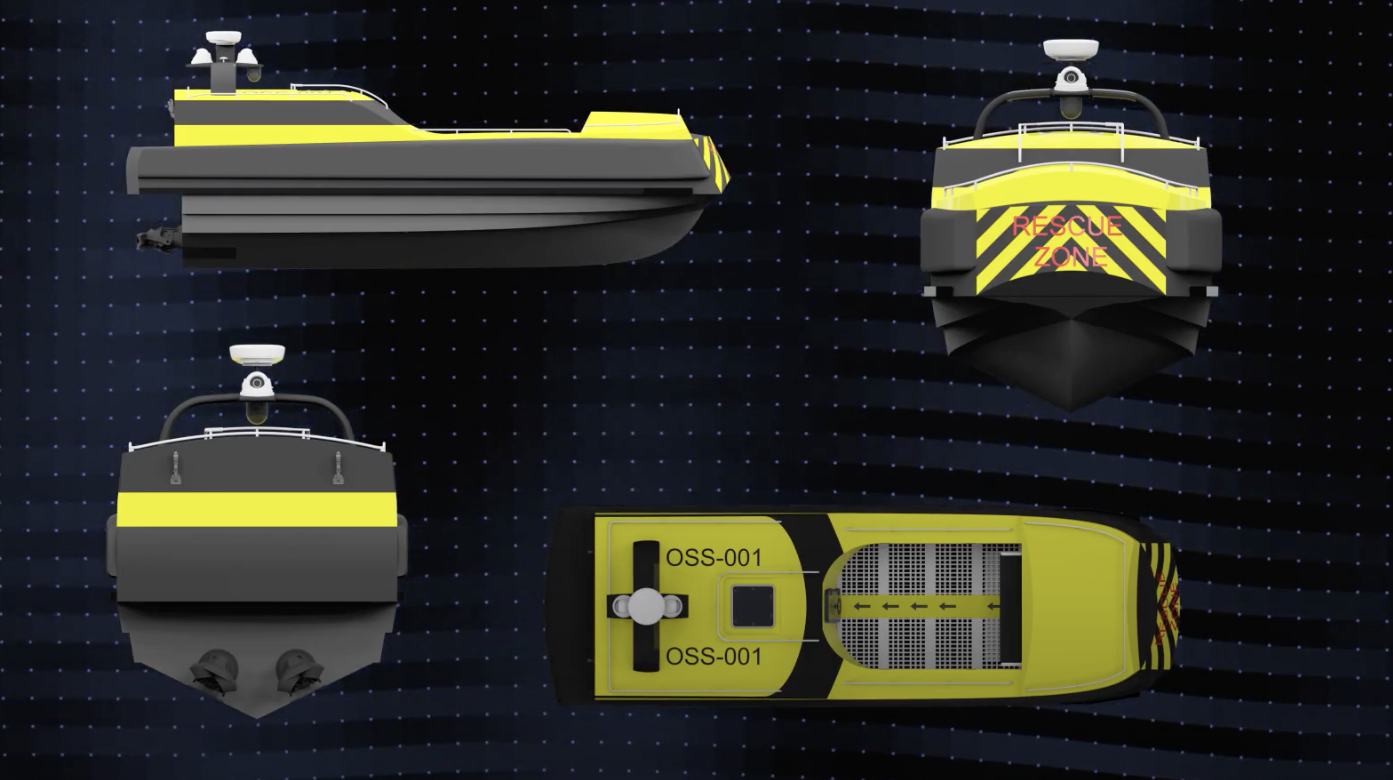 Startup develops world's first unmanned rescue vessel for offshore wind industry