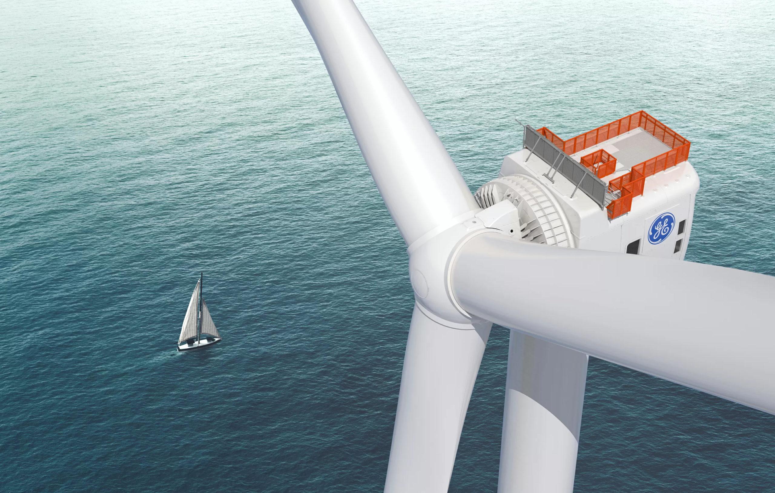 GE offshore wind turbine