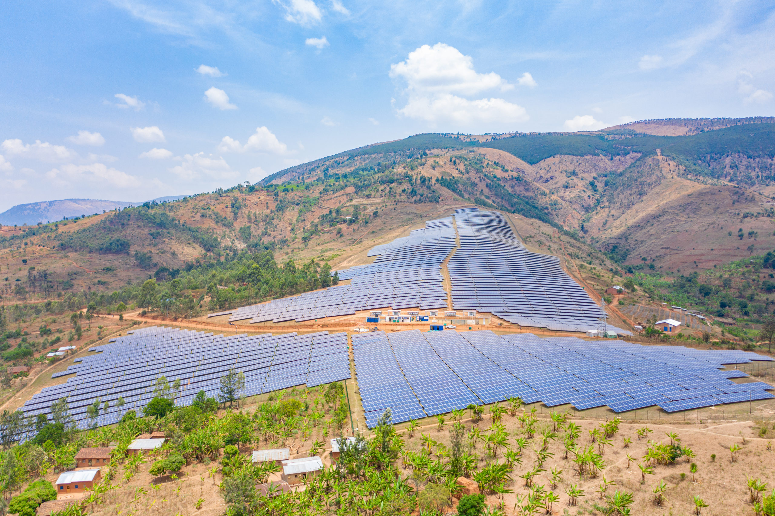 Burundi's first solar farm increases country's generating capacity by 10%