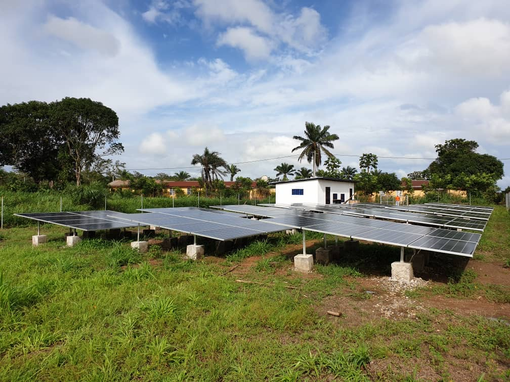 Microgrids bring first-time electricity access to 80,000 people in West Africa