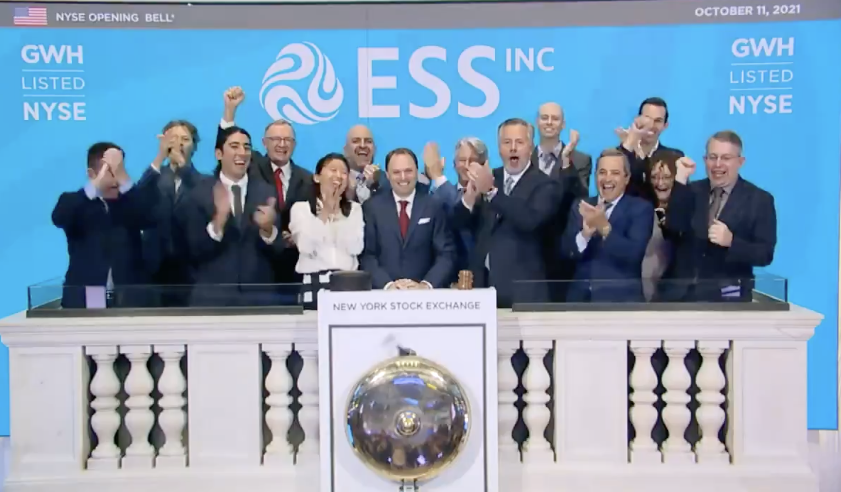 ESS becomes first U.S. long-duration energy storage company to list on NYSE